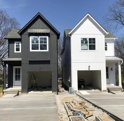 Nashville Single Family Home Under Contract - Not Showing: 514 A Camden Dr