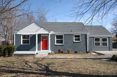 Single Family Home For Sale: 1107 Preston Dr A