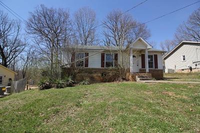 Clarksville Single Family Home Under Contract - Not Showing: 528 Ginkgo Dr
