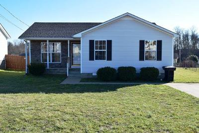 Oak Grove Rental Under Contract - Not Showing: 117 Gleaves Ln Lot 102