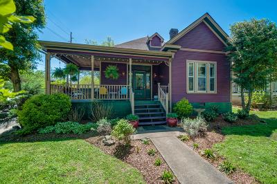 Nashville Single Family Home Under Contract - Showing: 1514 Gartland Ave