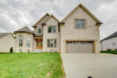 Clarksville Single Family Home For Sale: 14 Woodford Estates