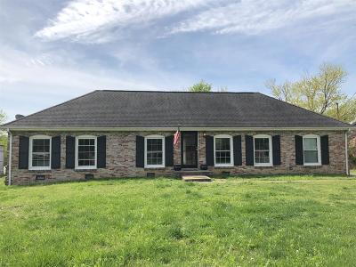 Nashville Single Family Home Under Contract - Showing: 490 Rural Hill Rd