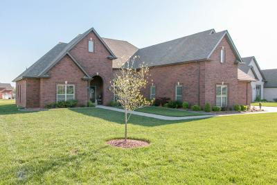 Clarksville Single Family Home Under Contract - Not Showing: 3120 Carrie Taylor Cir