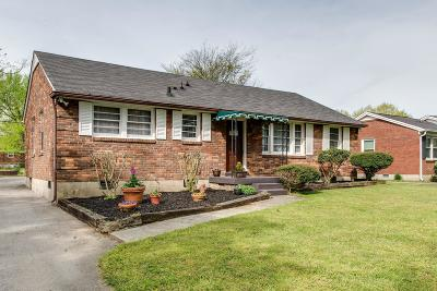 Nashville Single Family Home For Sale: 228 Graeme