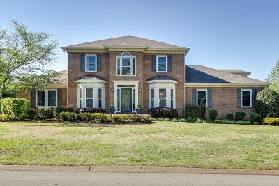 Brentwood Single Family Home Under Contract - Showing: 8330 Carriage Hills Dr