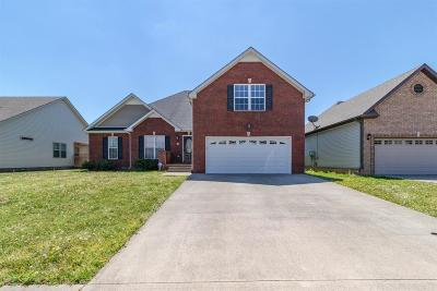 Clarksville Single Family Home Under Contract - Showing: 1466 Cobra Ln