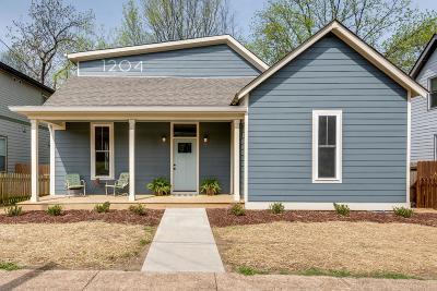 Nashville Single Family Home For Sale: 1204 Stainback Ave