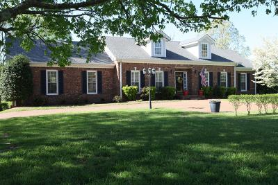 Franklin Single Family Home For Sale: 321 Breckenridge Rd