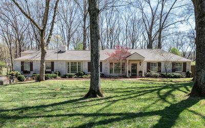 Nashville Single Family Home Under Contract - Showing: 6103 Robin Hill Rd