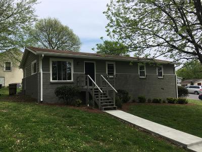 Nashville TN Single Family Home For Sale: $279,972
