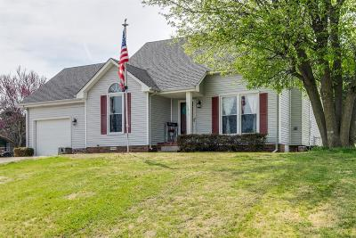 Clarksville Single Family Home For Sale: 1415 McClardy Rd