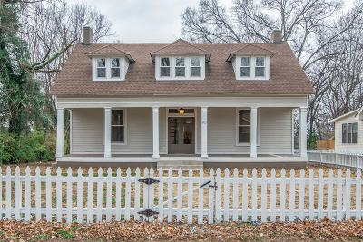 Davidson County Single Family Home For Sale: 903 N 14th St