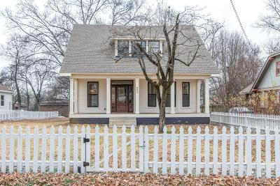 Nashville Single Family Home For Sale: 905 N 14th St