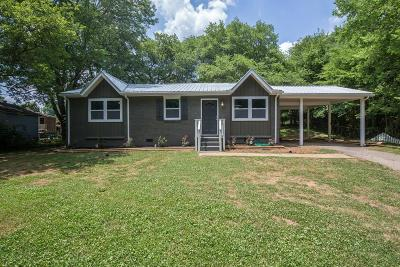 Goodlettsville Single Family Home Under Contract - Not Showing: 417 Janette Ct