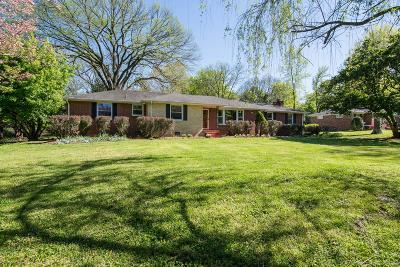 Nashville Single Family Home For Sale: 705 Farrell Rd