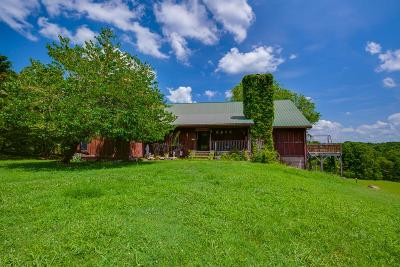 Christian County, Ky, Todd County, Ky, Montgomery County Single Family Home For Sale: 2511 Davidson Graveyard Rd