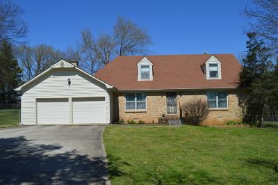 Murfreesboro Single Family Home Under Contract - Not Showing: 2127 Tulip Hill Dr