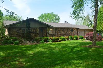 Winchester Single Family Home For Sale: 1239 Dripping Springs Rd