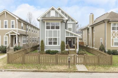 Nashville Single Family Home Under Contract - Showing: 4305 A Dakota Ave