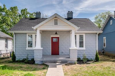 Nashville Single Family Home For Sale: 1904 N 9th Ave