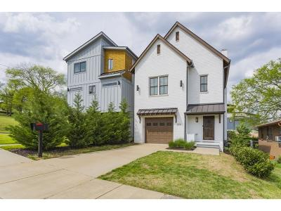 Nashville Single Family Home For Sale: 814 Olympic St