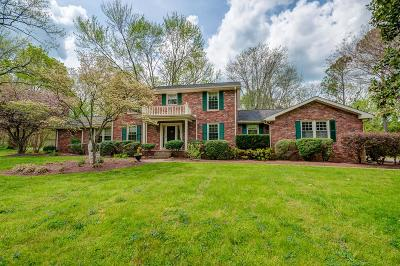 Brentwood Single Family Home Under Contract - Showing: 713 Shenandoah Dr