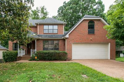 Nashville Single Family Home For Sale: 1117 Crestfield Dr