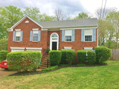 Nashville Single Family Home For Sale: 308 Kottas Pl