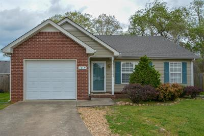 Rutherford County Single Family Home For Sale: 1419 Pagosa Ct