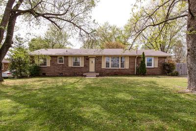 Hendersonville Single Family Home Under Contract - Not Showing: 104 Lucinda Ln