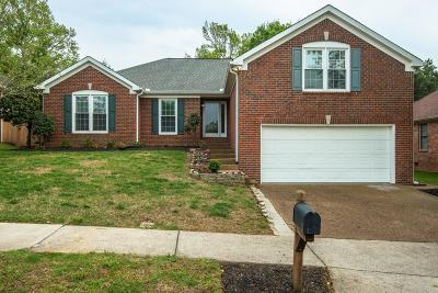 Franklin Single Family Home Under Contract - Showing: 138 Generals Way Ct