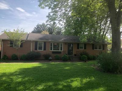 Winchester Single Family Home Under Contract - Showing: 803 Cumberland Dr