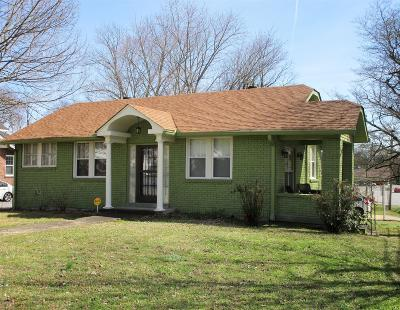 Nashville Single Family Home For Sale: 3800 Baxter Ave