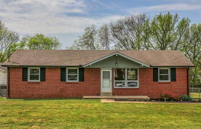 Smyrna Single Family Home For Sale: 106 Bailey Collins Dr