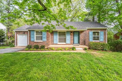 Nashville Single Family Home For Sale: 5716 Vine Ridge Drive