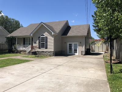 Murfreesboro TN Single Family Home For Sale: $235,000