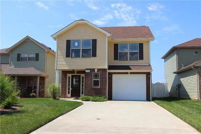 Clarksville TN Single Family Home For Sale: $169,740