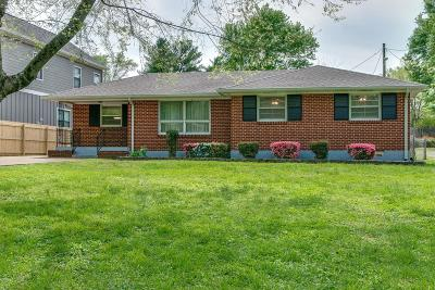 Nashville Single Family Home For Sale: 541 American Rd