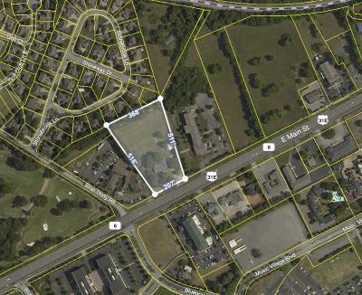 Hendersonville Commercial For Sale: 660 E Main St