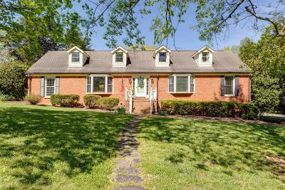Columbia Single Family Home Active Under Contract: 1500 Timberwood Dr