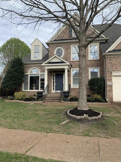 Franklin Single Family Home For Sale: 107 Carphilly Cir