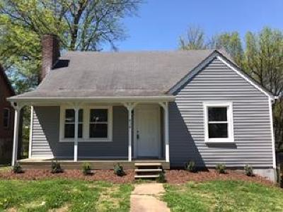 Clarksville TN Single Family Home For Sale: $110,000