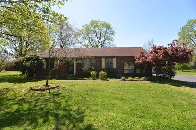 Nashville Single Family Home For Sale: 504 Cornet Dr