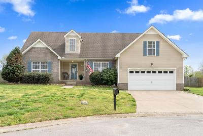 Clarksville TN Single Family Home For Sale: $208,000