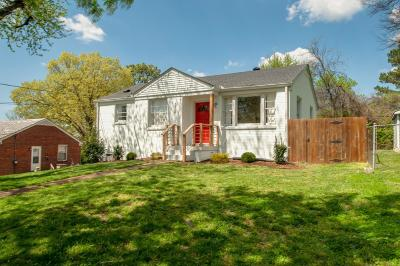 Nashville Single Family Home Under Contract - Showing: 2725 Mailan Dr