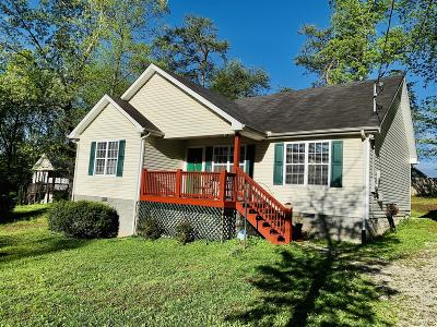White Bluff Single Family Home Active Under Contract: 502 Evening Shade Dr N