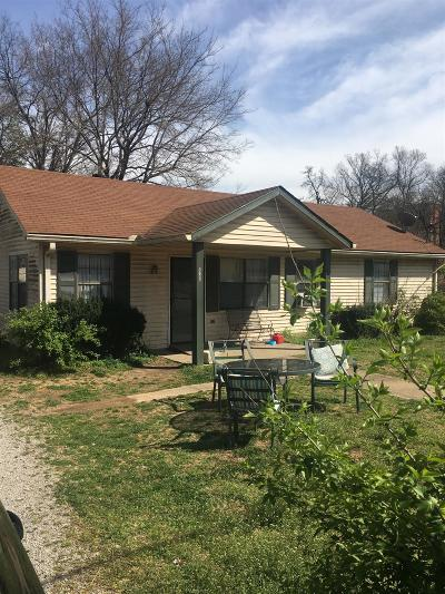 Nashville Single Family Home For Sale: 2149 Rock City St