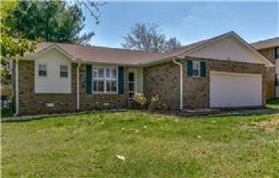 Franklin Single Family Home For Sale: 1003 Del Rio Ct
