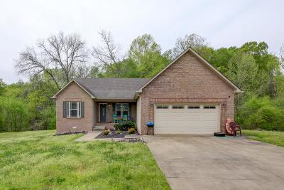 Clarksville Single Family Home Under Contract - Not Showing: 484 Comanche Ct